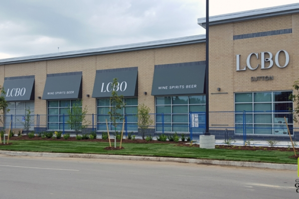 planting and sodding at lcbo